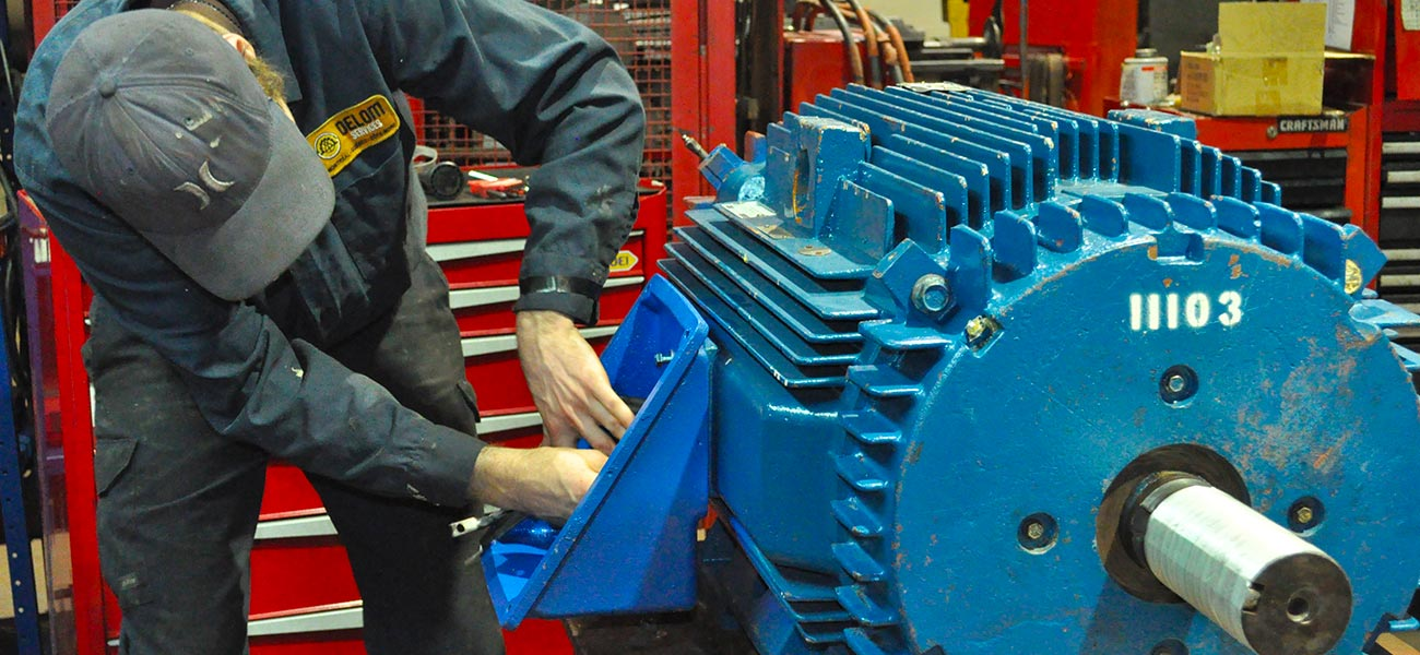 Repair and overhaul services motion electric motor services for Ac electric motor repair